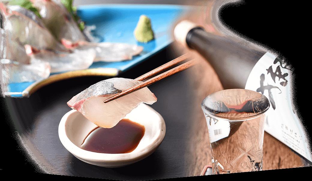 新海の料理