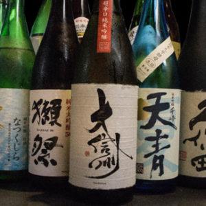 今月のおすすめ日本酒(純米吟醸、純米吟醸生酒、純米生酒などなど)