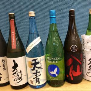 5月の厳選日本酒