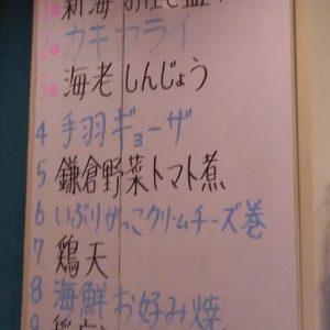 ランキング【食事部門】